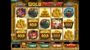 Betway Gold Factory Slot View