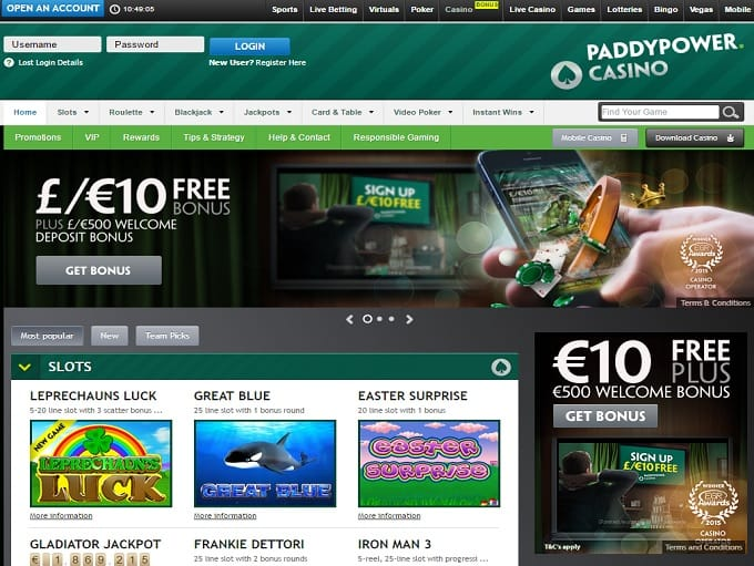Chat paddy power