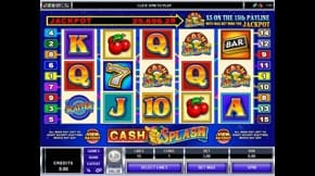 Cash Splash Slot View